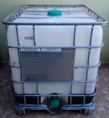 Container 1000 Litros Bombona Reservatório 1000 litros