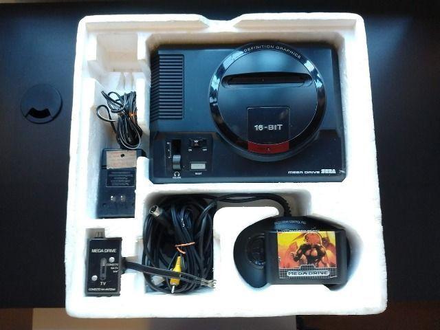 Video Game Sega Mega Drive Tec Toy para Colecionadores - Foto 2