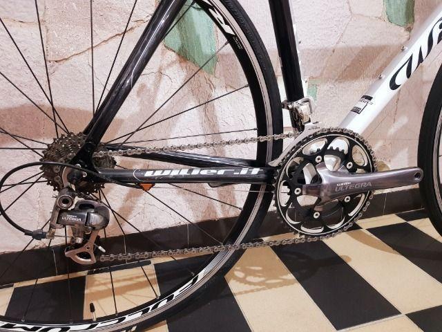 Bicicleta Speed Wilier Triestina Mortirolo - Carbono - Foto 3