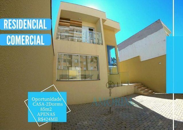 Casa com 2 dormitórios, residencial e comercial, no Portal dos Ipês, Cajamar