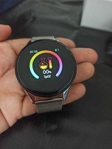 Relógio SmartWatch SN58 Tela de Vidro Temperado À Prova D'água (Android e iOS) - Foto 2