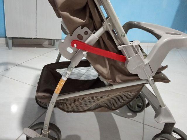Vendo carrinho de bebê Galzerano - Foto 5