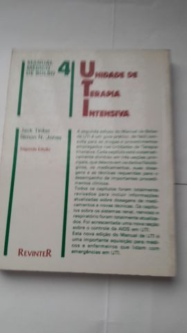 Manual Médico de Bolso 4 - Unidade de Terapia Intensiva-Jack Tinter / Simon N. Jones - Foto 2