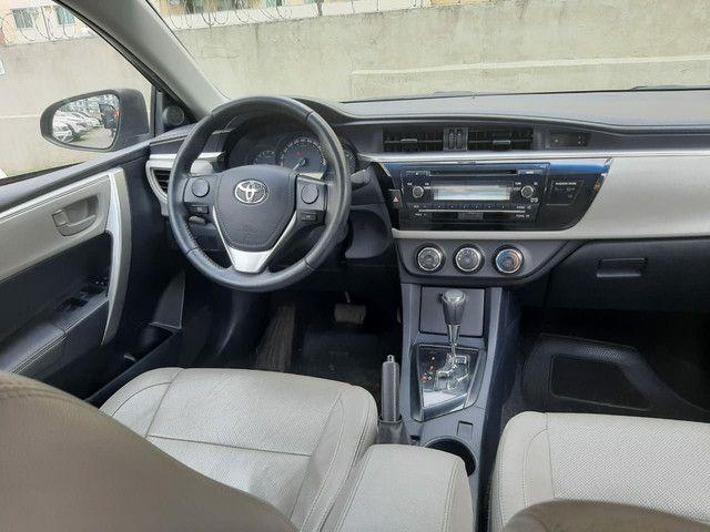 Toyota Corolla GLI 1.8 Flex. C/Entrada+48x952 fixas  - Foto 8