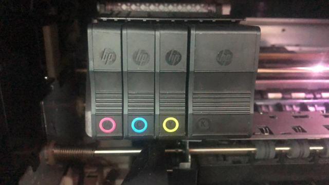 Imperdível! Cartuchos, cheios e novos, para impressora HP officejet PRO 8620