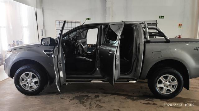 Vendo ranger Diesel XLT 3.2 CD manual 100% original segundo dono! - Foto 10