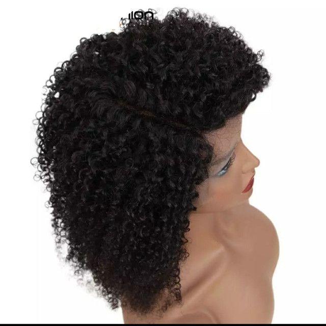 Lace Front Wig CABELO HUMANO NOVA - Foto 4