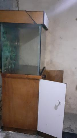 AQUÁRIO DE 400 litros completo r$500,00 - Foto 4