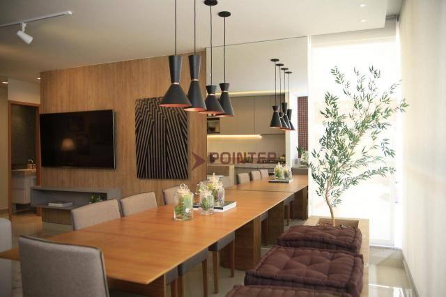 Apartamento com 3 quartos à venda, 93 m² por R$ 397.358 - Jardim Atlântico - Foto 4