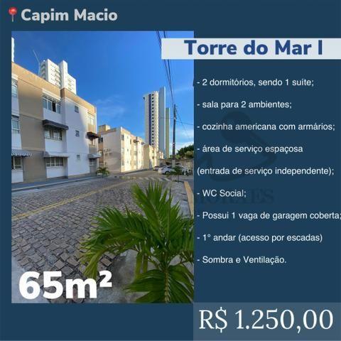 Alugo Torre do Mar I - 2/4 sendo 1 suíte - 65m² - R$1.200 - TM01840