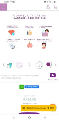 Coletor menstrual inciclo - Foto 4