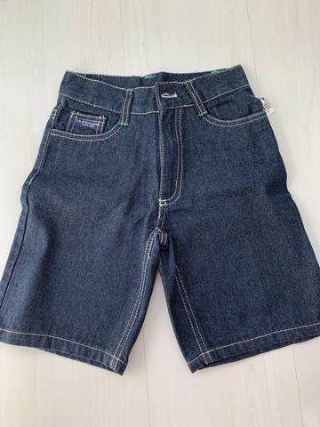 Bermuda jeans nova tamanho 5 anos