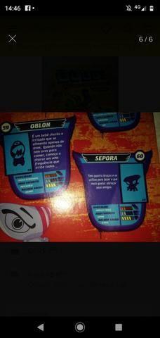 Album GOGO's gogos CRAZY BONES FALTAM SO 2 figurinhas - Foto 6