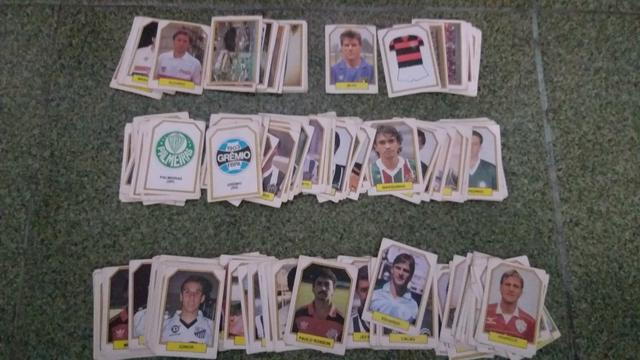 Lote de figurinhas do Campeonato Brasileiro de 1990