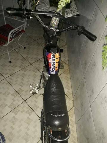 Bicicleta chopper motorizada R$1300 - Foto 2
