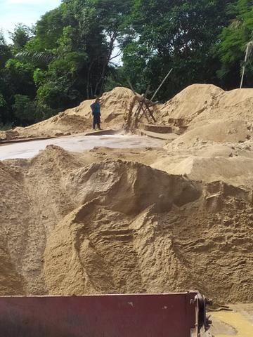 Areia lavada, Grossa, Média, Fina. * - Foto 2
