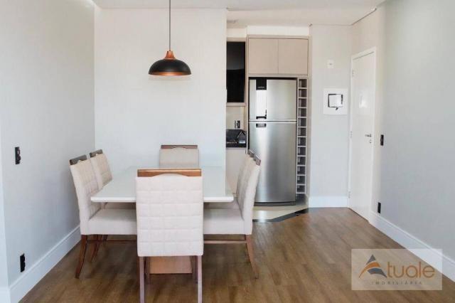 Apartamento com 2 dormitórios para alugar, 69 m² por R$ 2.400,00/mês - Jardim Chapadão - C - Foto 4