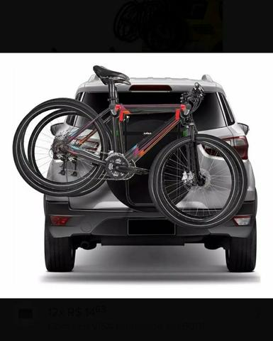 Suporte Transbike Estepe Plus 3 Bikes Cross Fox Ecosport - Foto 2