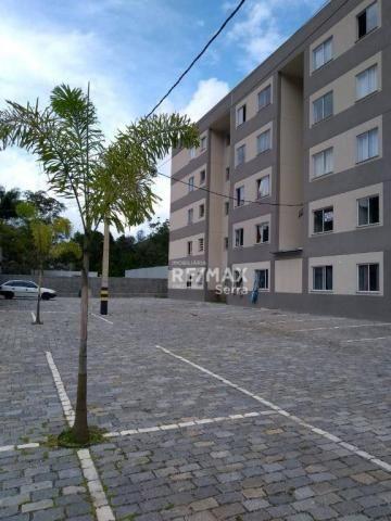 Apartamento com 2 dormitórios à venda, 48 m² por R$ 169.000,00 - Pimenteiras - Teresópolis - Foto 2