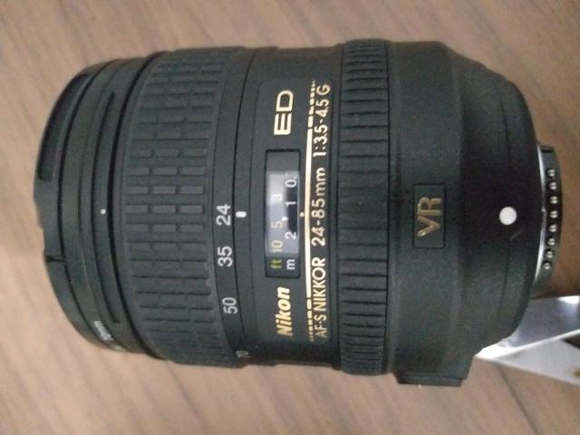 Lente Nikon 24 85