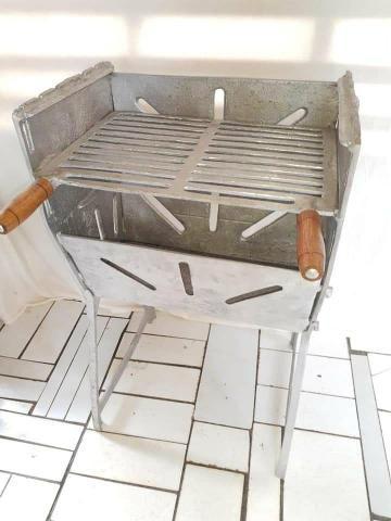 Churrasqueira de alumínio a partir de 125 reais - Foto 3