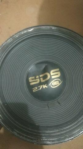 Sds Black 2.7 15 pol.4 ohms troco leia - Foto 2