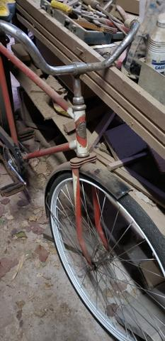 Bicicleta antiga monark - Foto 3