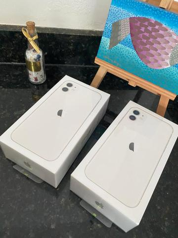 IPhone 11 128gb Branco Anatel LACRADO - Foto 3