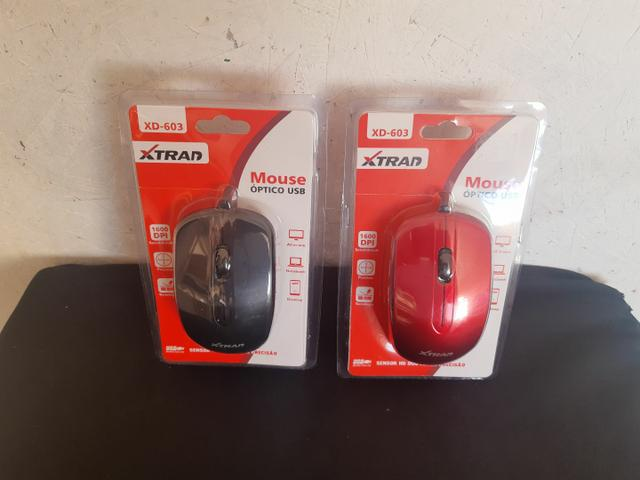 Mouse com fio USB XTRAD  - Foto 5