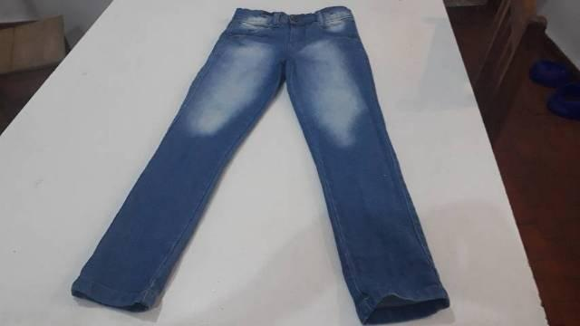 Calça jeans masculino infantil 6 anos contato *