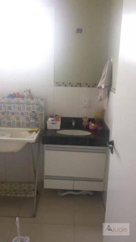 Casa com 3 dormitórios para alugar, 195 m² por R$ 2.605,00/mês - Residencial Real Parque S - Foto 13
