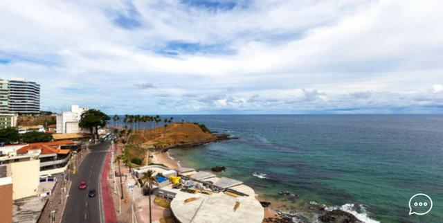 """""""Barra Expresso 222 - 1 quarto e Sala Mobiliado - Vista Mar - Foto 3"""