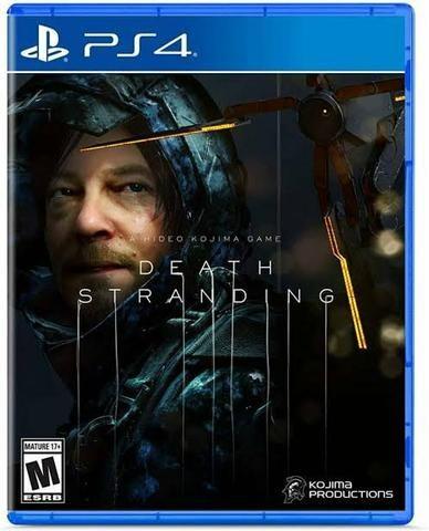 Death stranding PS4 dublado português mídia física