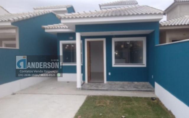 Excelente Casa em Itaipuaçu c/ 2Qtos (1 suíte), churrasqueira e chuveirão. - Foto 3