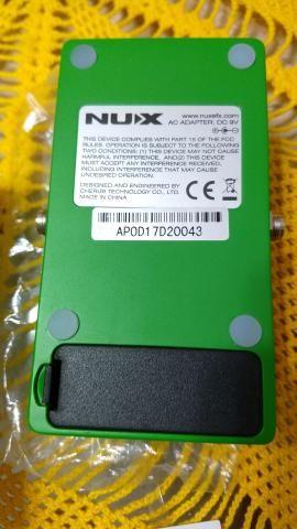 Pedal Nux Overdrive NOVO, na caixa e com as TAGS - Foto 3