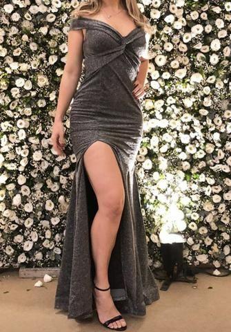 Vendo vestido longo lurex - Foto 2