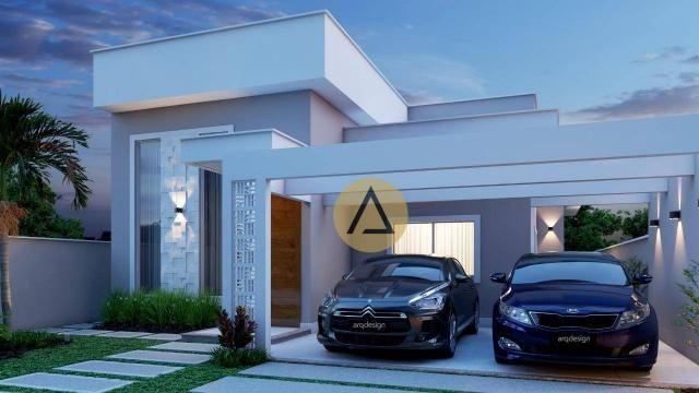 Casa com 3 dormitórios à venda, 110 m² por R$ 500.000 - Bela Vista - Rio das Ostras/RJ - Foto 4