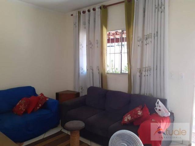 Casa com 2 dormitórios à venda, 50 m² por R$ 240.000 - Parque Nova Veneza/Inocoop (Nova Ve - Foto 4