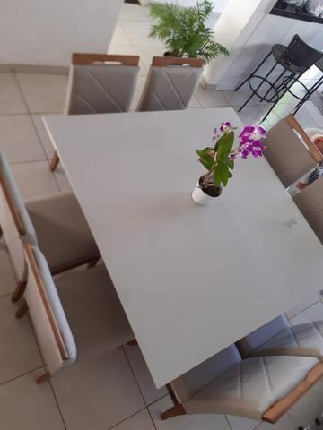 Mesa de jantar Akila oito 8 completa - Foto 2