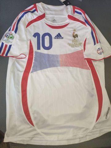 Camisas França Retrô Diversas Copas, Euro, jogadores históricos - Foto 5