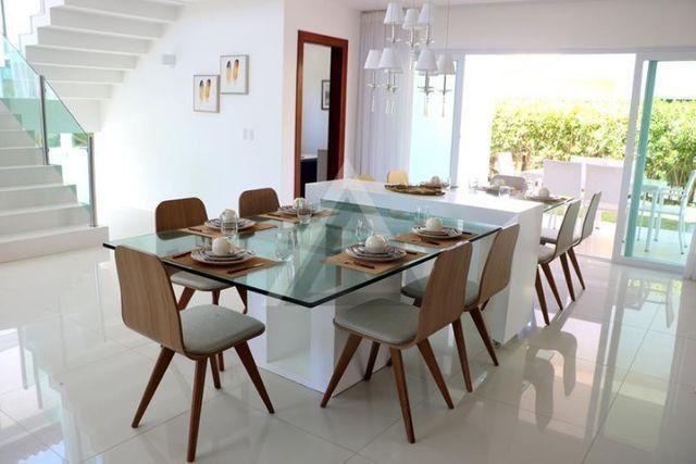 Casa de luxo mobiliada 6 quartos em Guarajuba/Camaçari-BA - Foto 8