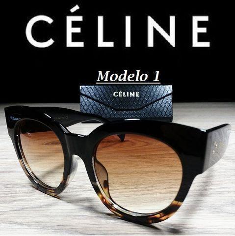 Óculos Feminino Céline Petra Redondo CL41447 com Proteção UV