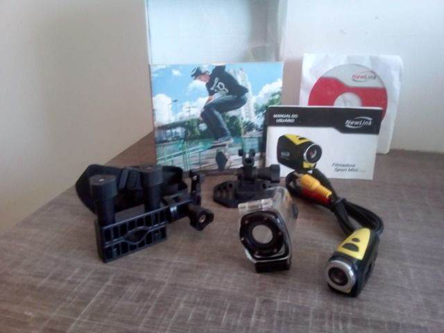 Mini Câmera New Link (Usada Nova ) - Foto 3
