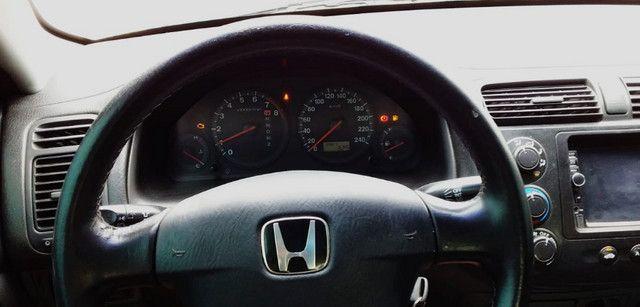 Honda Civic 04/05 lxl 1.7L Automático Geração 7 Completo com GNV - Foto 4