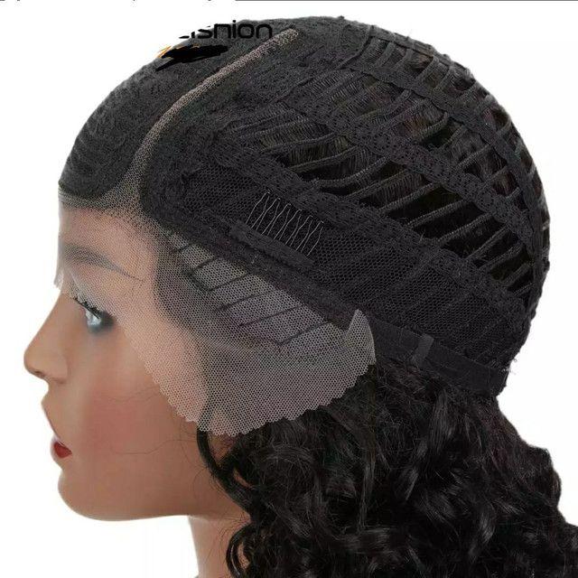 Lace Front Wig CABELO HUMANO NOVA - Foto 5