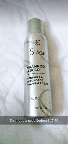 Shampoo a seco Eudora siage controle de oleosidade lavagem a seco