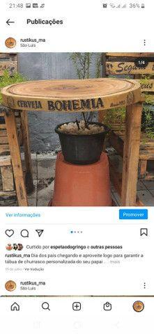 Vendo tábuas rústicas  personalizadas  para  churrasco  - Foto 3