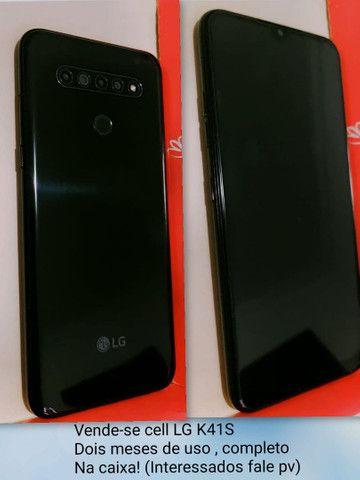 LG K41S NOVO 1 MES DE USO