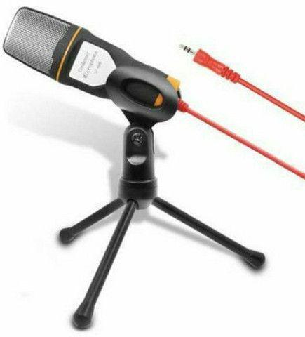 Microfone Condensador Profissional Omnidirecional SF-666 - Foto 6
