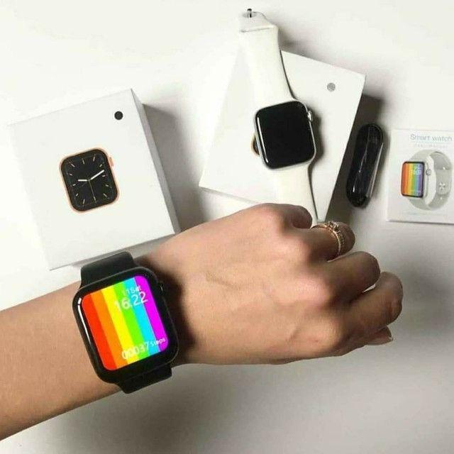 Relógio smartwatch Iwo w26 (Leia) - Foto 2